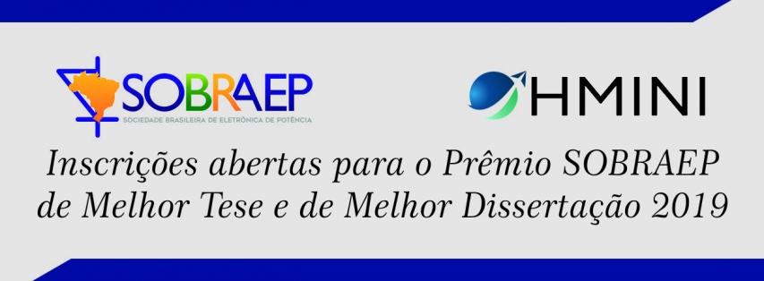 Prêmio SOBRAEP de Dissertação e de Tese – Edição 2019