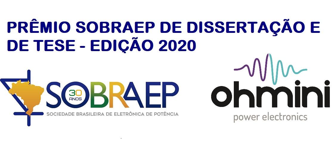 Prêmio SOBRAEP de Dissertação e de Tese – Edição 2020