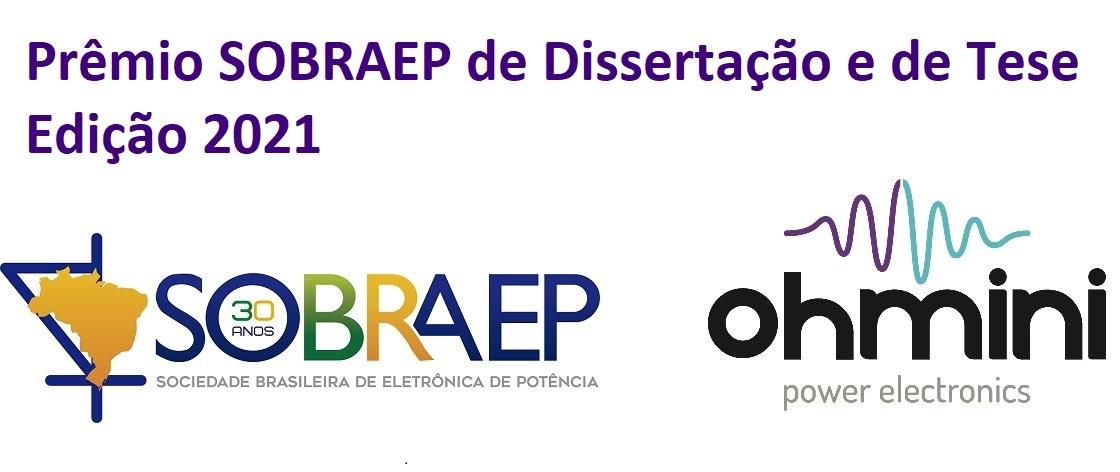 Prêmio SOBRAEP de Dissertação e de Tese – Edição 2021