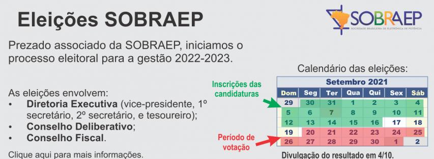 Processo eleitoral para a gestão 2022-2023